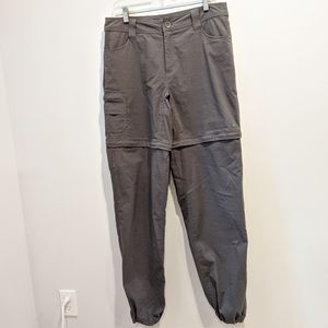 Chlorophylle grey convertible pants sz 12